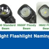 ZebraLight Flashlight Naming Guide