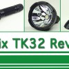 Fenix TK32 Flashlight Video Review
