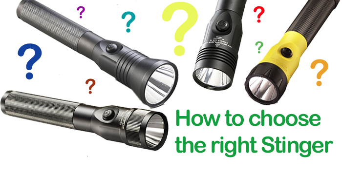 How to Choose the right Streamlight Stinger LED Flashlight ...