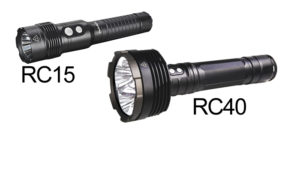New Fenix RC15 and RC40 Rechargeable Flashlights