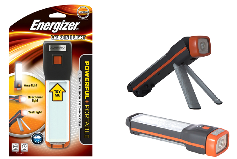 Energizer Light Fusion LED 3-in-1 Flashlight
