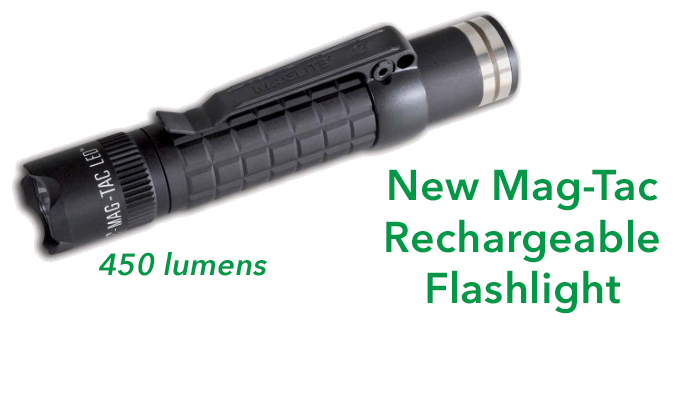 Maglite Mag Tac Rechargeable Flashlight Review